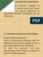 Filosofías de Diseño de Control Room AA Pte 2 Clase 11