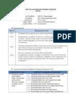 RPP IPA KLS 8 Sistem gerak Pada Mahluk hidup.doc
