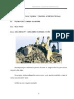 Descripcion de Equipos Y Calculo de Productividad.doc- UMSS Jhonatan