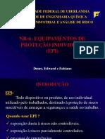 EPIS, Equipamentos de protecao