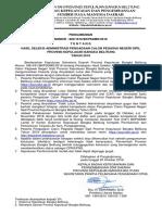 Pengumuman Hasil Seleksi Administrasi Pengadaan CPNS 2018.pdf