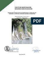 Proyecto de prospeccion arqueologica  - 2014.docx