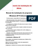 Procedimento de Instalação(Traduzido)