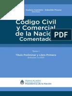 Codigo Civil de la Nacion Argentina (Tomo I)