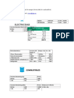 Reporte Del Consumo Actual de Energía