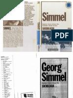 34 - SIMMEL, Georg - Sociologia (Organização Evaristo de Moraes Filho)