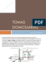 Tomas Domiciliarias