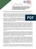 Comunicado de OIT Regional-CEPAL