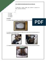 Practica Evaluacion Del Hidrociclon