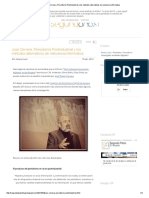 José Cervera, Periodismo Postindustrial y Los Métodos Alternativos de Relevancia Informativa