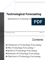 Technological Forecasting