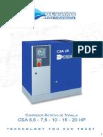 CSA-55-75-10-15-20-HP