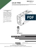 Lincoln ln-25 PRO.pdf
