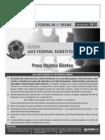 Prova Trf - 1ª Região - Juiz Federal - Cespe - 2013