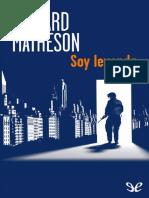 Soy Leyenda - Richard Matheson.pdf