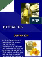 Farmacotecnia Clase 4 Extractos