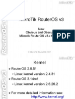 RouterOS v3 Presentation
