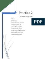 Cisco Packet Tracer Practica 2