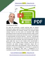 PARTE 3 TV TRIBUNA SBT - CIRCULANDO COM LU LIMA | Técnicas de Estudo e Memorização
