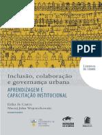 inclusão, colaboração e governança urbana