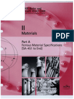 ASME Section 2A - Materials - Ferrous Material Specifications