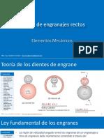 DM 12 Engranes Rectos
