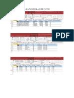 Ejercicio de Aplicación de Base de Datos