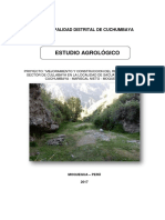Estudio Agrologico - Cullabaya