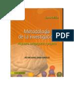 Diccionario de La Investigacion. Propuesta, Anteproyecto y Proyecto