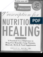 Nutritional Healing for Cystic Fibrosis