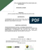 Terminos de Referencia Fertilizantes Alianza ASFACONFU OCTUBRE (1)