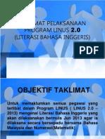 Taklimat LINUS 2.0 2013.ppt