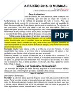 Roteiro O CRISTO DA PAIXÃO 2015 Atualizado (1)