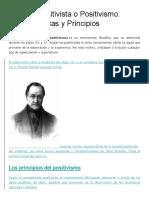 Escuela Positivista o Positivismo.docx
