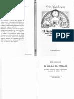Eric Hobsbawm - El mundo del trabajo. Estudios históricos sobre la formación y evolución de la clase obrera.pdf