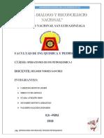 Operaciones Unitarias 7-09-2018