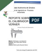 Reporte Metrologia y Normalizacion