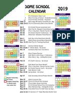 dome-school-calendar-2018 2019
