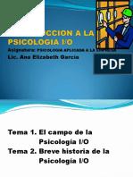 Introducción a La Psicología IndustrialOrgnizacional