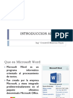 01 Introduccion Al Word