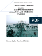 Tanker ship's discharging operation and COW.pdf