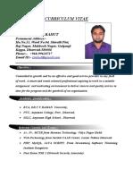 CV Zeeshanali