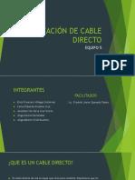 Creación de Cable Directo