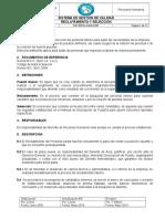 Rrhh- Ggm p001 Reclutamiento y Seleccion