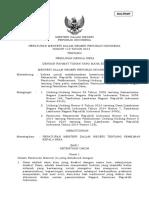 Permendagri No 112 Tahun 2014 Tentang Pemilihan Kepala Desa