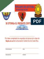 2- Certificado de Lectura Rayitos de Sol a.c.s.c.r