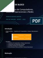 Apresentação Projeto ACSOR Romulo Rocha Santos