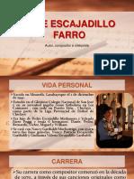 Jose Escajadillo Farro