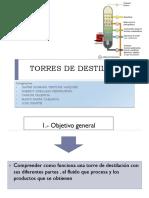 Torres de Destilación