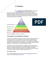 Lectura Complementaria Piramide de Maslow